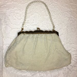 Vintage Whiting and Davis Co. Metal Mesh Clutch